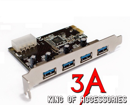 Card PCI express to usb 3.0