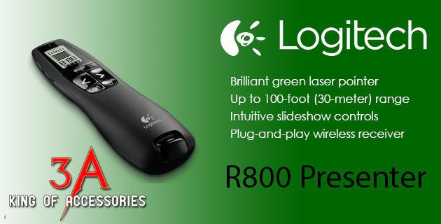 Hướng dẫn sử dụng bút trình chiếu Logitech R800