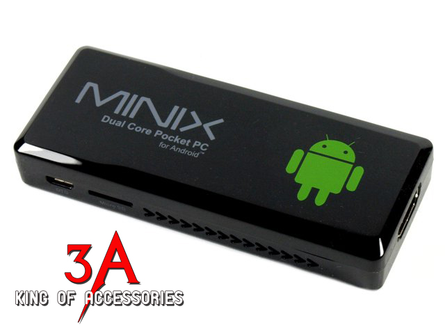 Android TV box MINIX NEO G4 8GB nhỏ gọn
