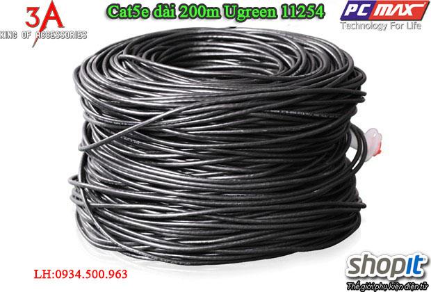 Dây mạng Cat5e dài 200m chất lượng tốt cao cấp Ugreen 11254