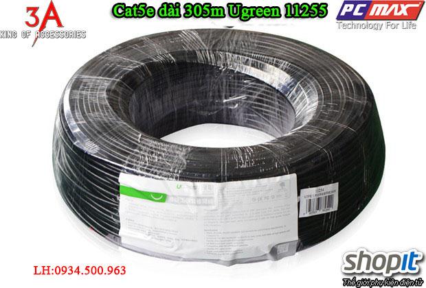 Dây cáp mạng Cat5e dài 305m chất lượng chính hãng Ugreen 11255