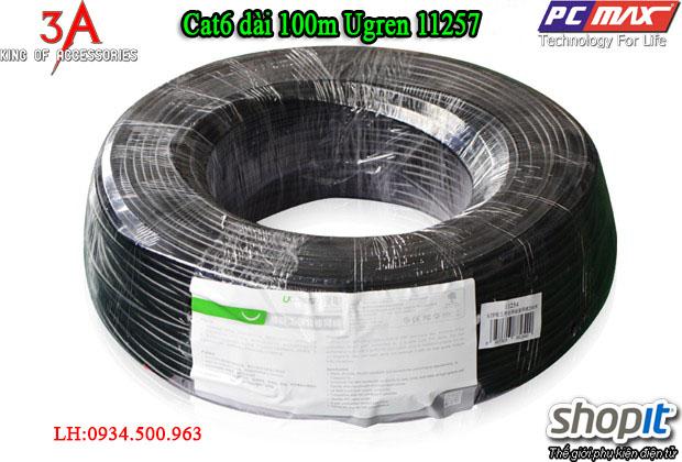 Cáp mạng Cat6 dài 100m cao cấp chính hãng Ugreen 11257