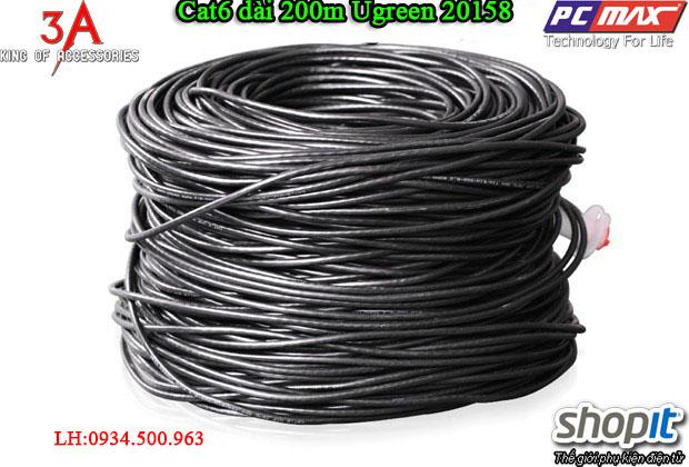 Cáp mạng Cat6 dài 200m cao cấp chính hãng Ugreen 11258