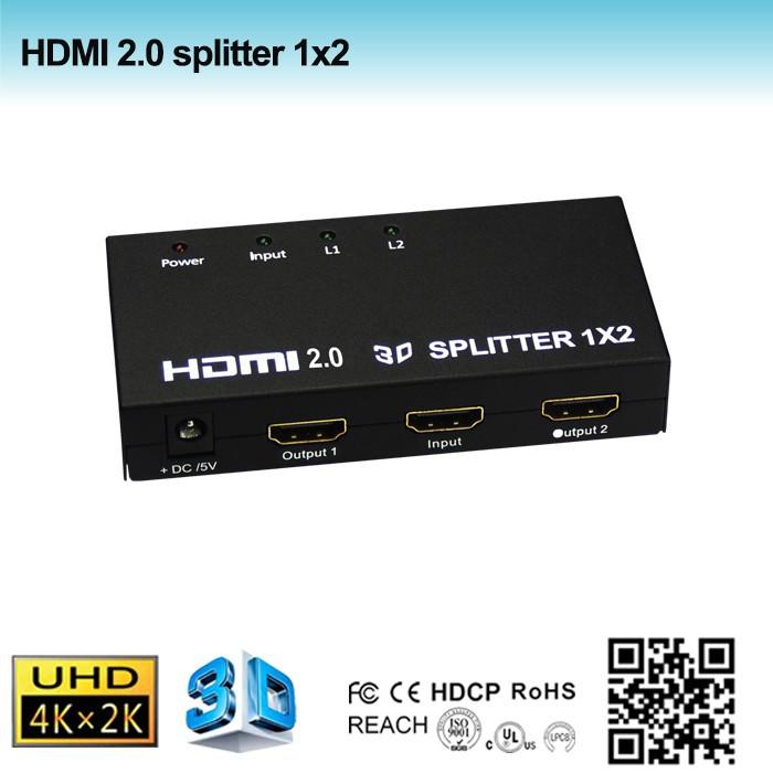 www.123nhanh.com: Bộ chia cổng HDMI 1 ra 2 chính hãng PCMAX PCM-SP102-v2.0