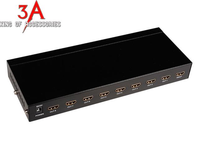Bộ chia HDMI 1 ra 8 2K * 4K MT-SP148 chất lượng cao Sp148-1