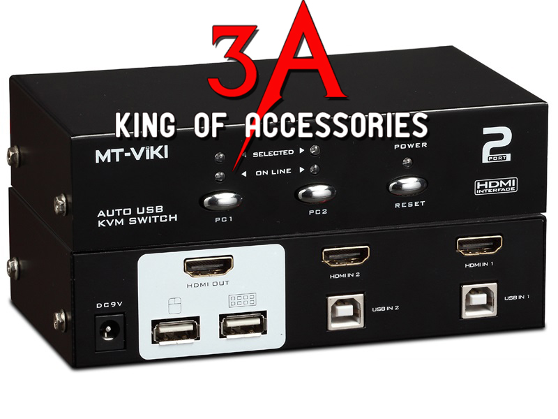 KVM switch HDMI 4 cổng