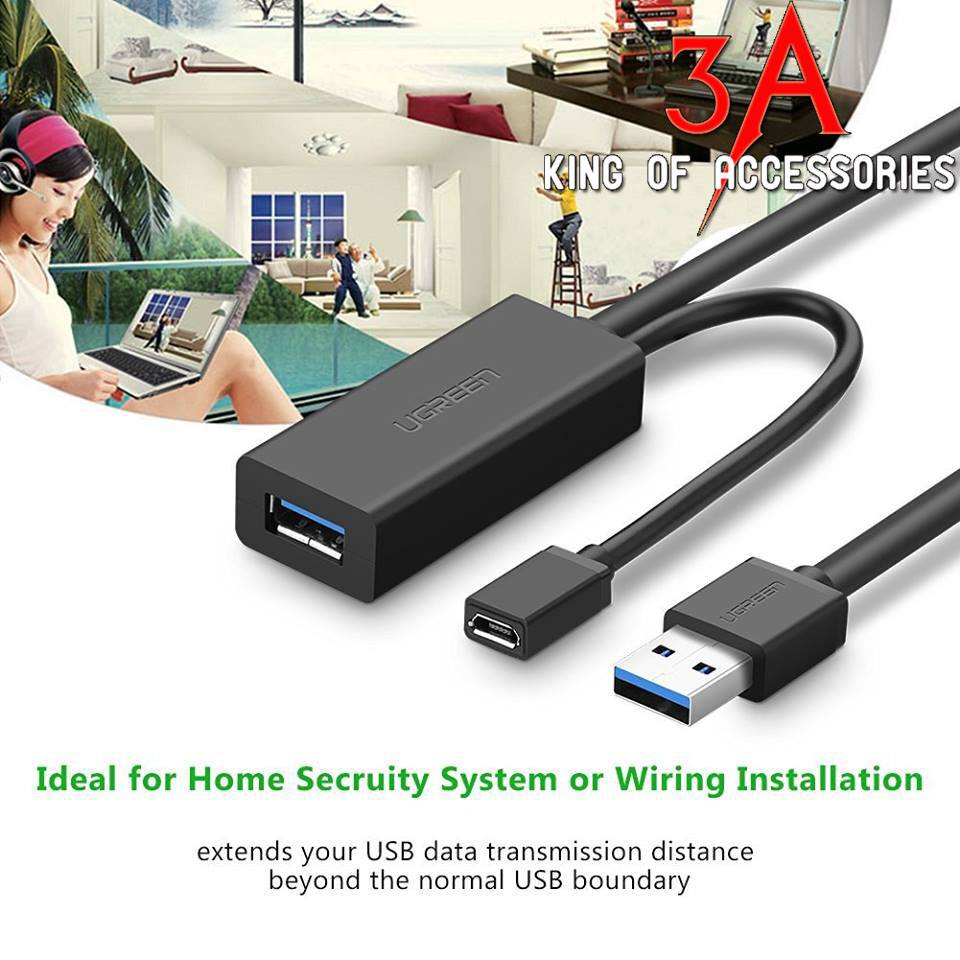 USB 3.0 Active Cable 5m Ugreen 20826