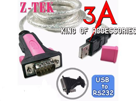 usb to com rs232 ztek