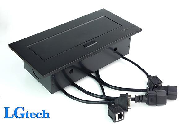Ổ cắm điện đa năng có cổng VGA, LAN, HDMI và audio LGTECH OD2HVL2