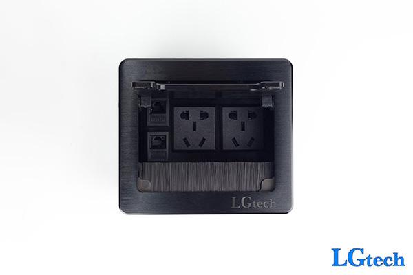 Ổ cắm điện đa năng hỗ trợ 2 cổng LAN chính hãng LGTECH OD2L2
