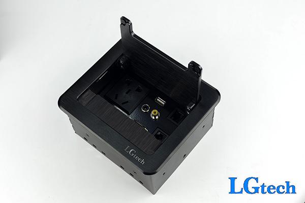 Ổ cắm điện đa năng có VGA, AV, LAN,USB và audio 3.5mm LGTECH ODVAVL2UAU