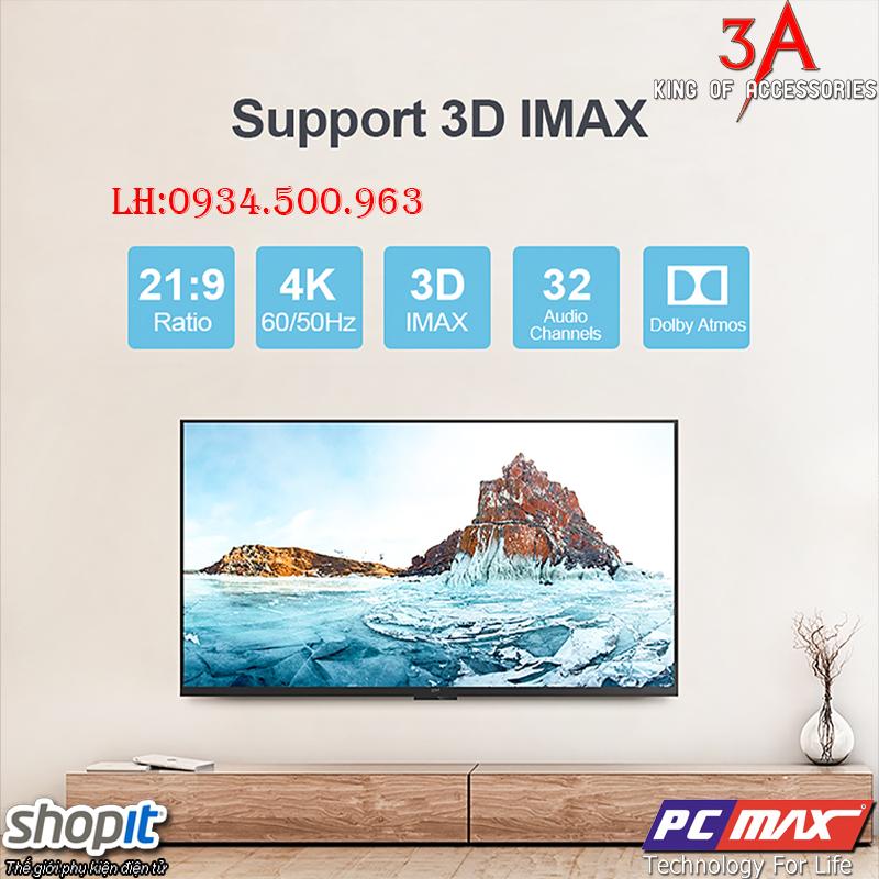 Dây HDMI chuẩn 2.0 dài 5m hỗ trợ VR và 3D display chính hãng Unitek Y-C140RGY