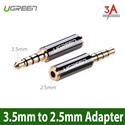 3.5mm Male to 2.5mm Female Adapter - Ugreen 20502