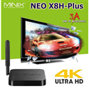 Android tv box Neo X8H-Plus, biến tv thường thành smart tv full HD 2k 4k
