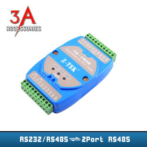 Bộ chuyển đổi RS232/485 to 2 RS485 chính hãng Ztek - ZY210