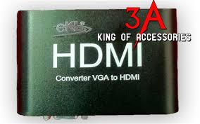 Bộ chuyển đổi VGA to HDMI có audio chính hãng EKL