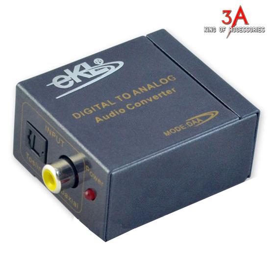 Bộ Converter quang hoặc Coaxial sang RCA EKL