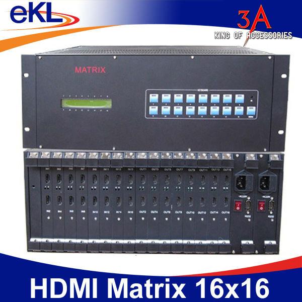 Bộ gộp tín hiệu hdmi 16 vào 16 ra - HDMI Matrix Switcher 16x16 EKL-1616H