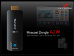 Bộ HDMI không dây Measy Dongle A2W Ezcast + Miracast