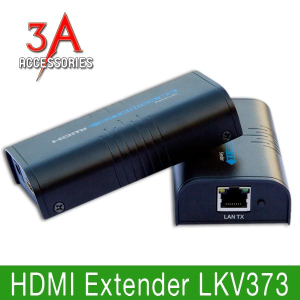 Bộ khuếch đại HDMI 100m bằng cáp mạng LKV373 chính hãng LenKeng