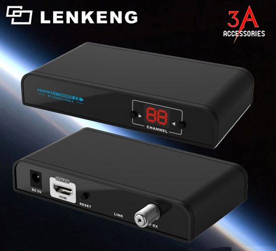 Bộ Khuếch đại HDMI LKV379 qua cáp đồng trục lên đến 700m