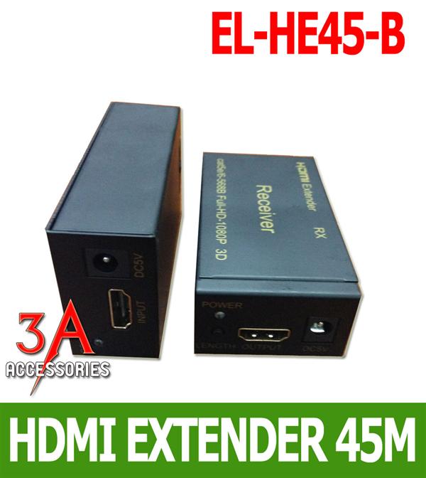 Bộ khuếch đại tín hiệu HDMI 45 mét EL-HE45-B cao cấp