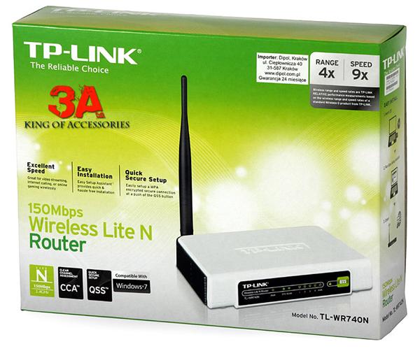 Bộ phát Wifi TP-Link TL WR740N