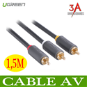 Cáp AV 1,5m Ugreen 10524 - RCA cable