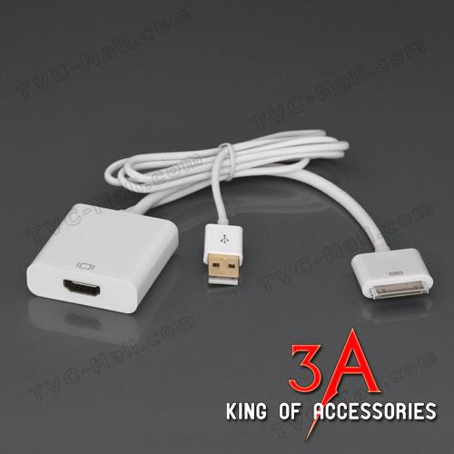 Cáp chuyển Ipad sang HDMI có sạc cổng USB