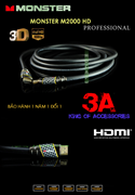 Dây HDMI Monster 7.6m