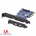 Card PCI-Express sang 2 cổng USB type C Ugreen 30773