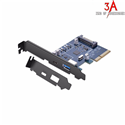 Card PCI-Express sang cổng USB type C và USB 3.0 Ugreen 30774