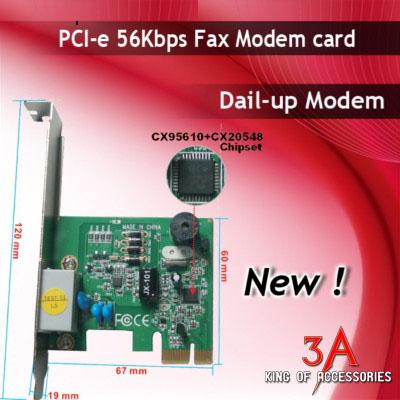 Card PCI Express to RJ11, fax modem cho máy pc tốc độ cao