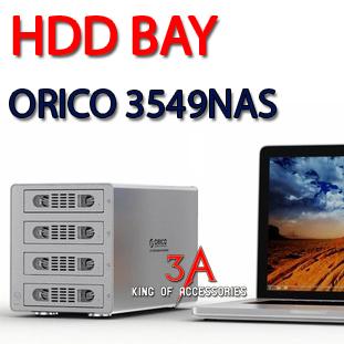HDD BAY 4 BAY 3.5 Orico ORICO 3549NAS chia sẻ dữ liệu qua mạng chính hãng