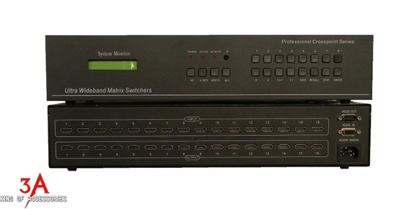 HDMI Matrix Switch 16x16 chính hãng MT-VIKI MT-HD1616