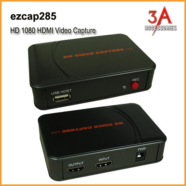 Hộp ghi hình HDMI từ máy quay, máy nội soi, gameplay EZcap 285