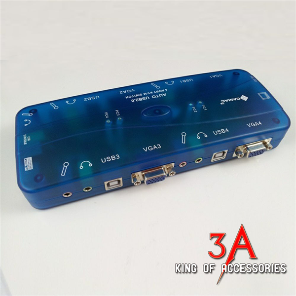 KVM Switch 4 port usb auto