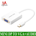 Mini Display Port to VGA+Audio Converter cable ugreen 10437