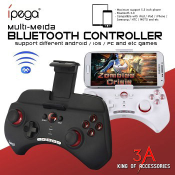Tay chơi game bluetooth cho iphone, android IPEGA PG-9025