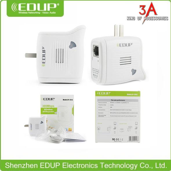Thiết bị chuyển tiếp sóng wifi repeater chuyên dụng chính hãng EDUP EP-2913