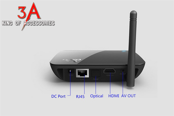 Tivi box Android chip lõi tứ - CR11s Quad-Core