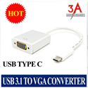 USB type C to VGA adapter cao cấp